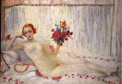 Model (Nude Self-Portrait) (1915), Florine Stettheimer