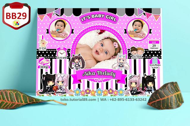 Biodata Bayi Costume Boy Girl Kode BB279 | Kartun Lucu