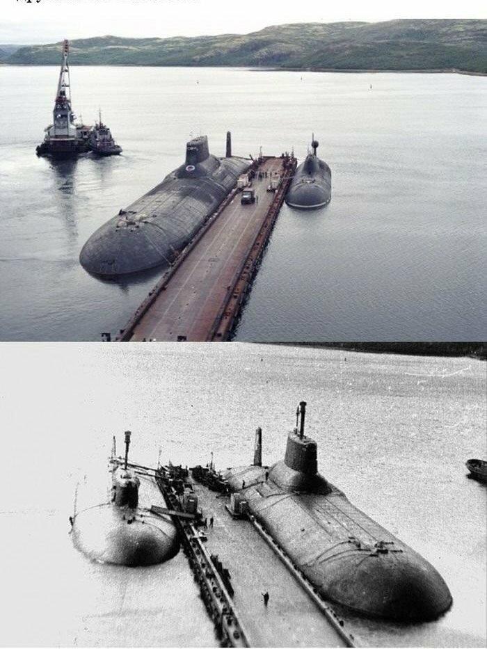 submarino gigante