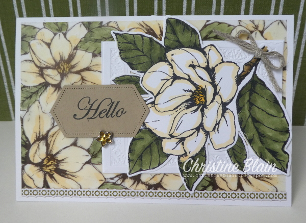 Happy Heart Cards Stampin Up Magnolia Lane Memories border=