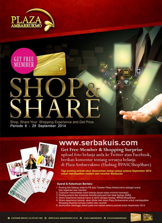 Kontes Foto Shop & Share Berhadiah Modem dan Voucher Starbuck / Minggu
