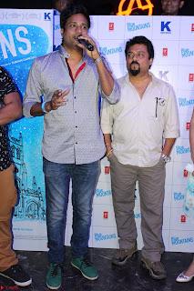 Gracy Singh and Bappi Lahiri   Blue Mountain Music Launch IMG 0746.JPG