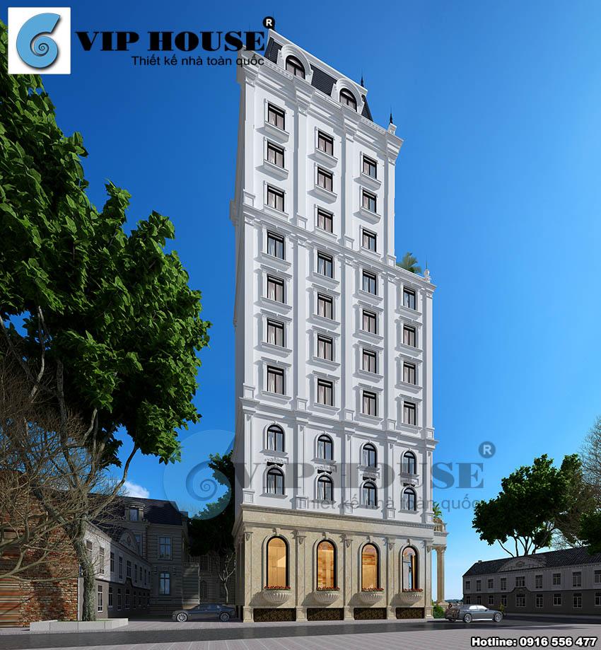 Hình ảnh: Các mái vòm kiểu cổ điển xuất hiện xuyên suốt thiết kế khách sạn mini 2 sao làm rõ dấu ấn của lối kiến trúc châu Âu.