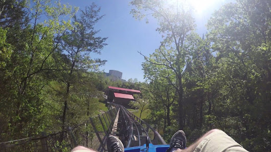 Check out the Runaway Mountain Coaster in Branson