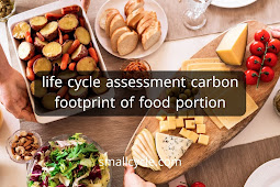 Life Cycle Assessment Carbon Footprint of Food Portion