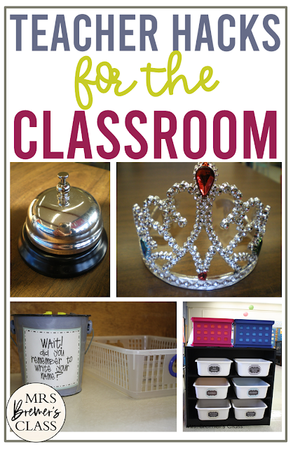 Teacher tips for the classroom in Kindergarten and First Grade