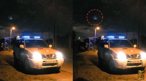 Avvistamento UFO in Spagna il 20 gennaio 2019