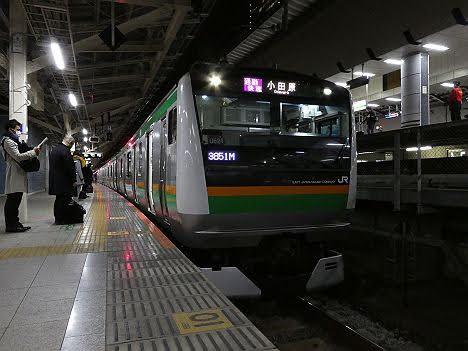 【ダイヤ改正で廃止!】東海道線 通勤快速 小田原行き