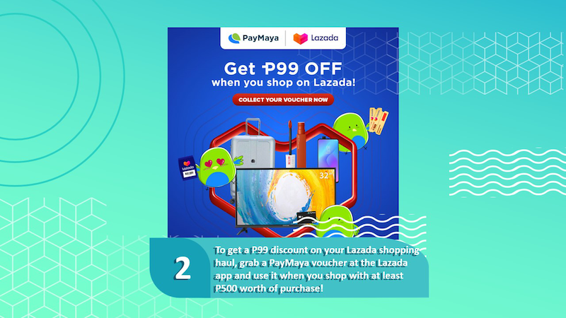 PHP 99 discount at Lazada!