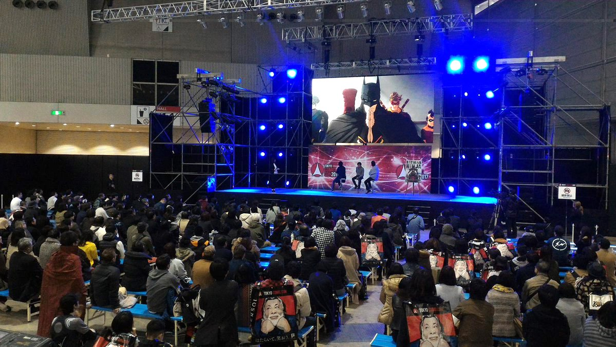 Besides On Stage And Big Screen Premiere Of The Japan Trailer There Were Reveals Via Various Other Booths Which Is Great Because That Meant Everyone