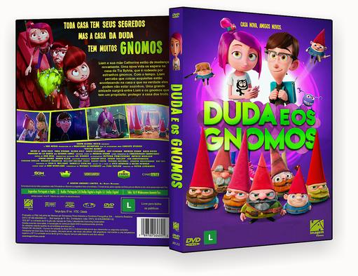 DUDA E OS GNOMOS DVD-R OFICIAL – CAPA DVD