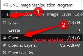 GIMP برنامج مجانى ومفتوح المصدر وتستطيع استخدامة على كافة أنظمة التشغيل مثل   Windows, macOS, Linux