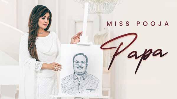 miss pooja papa lyrics