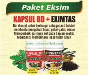 Kapsul BD dan eximtas Paket Eksim