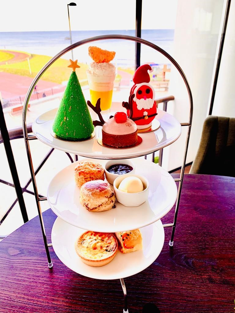 Christmas Days Out for Teens in North East England - festive afternoon tea spanish city