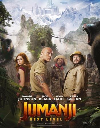 Jumanji: The Next Level (2019) Full Movie Download in Dual Audio Hindi+English