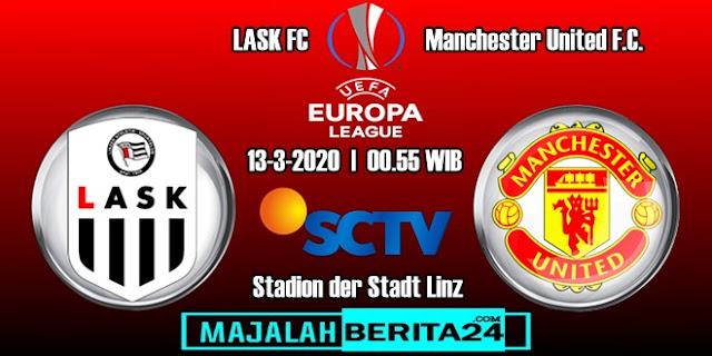 Prediksi LASK Linz vs Manchester United