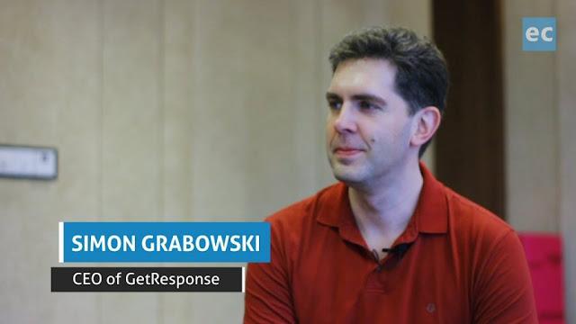 Simon Grabowski, CEO of GetResponse