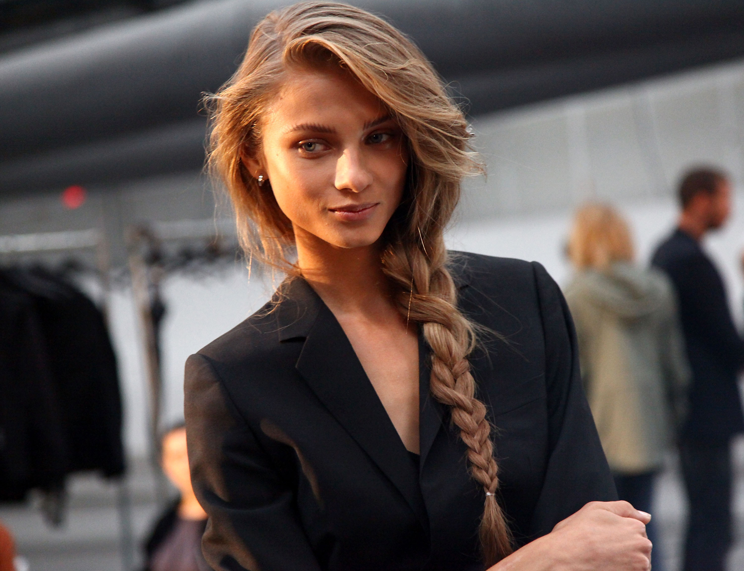 beautiful by choice: how to do a messy side braid