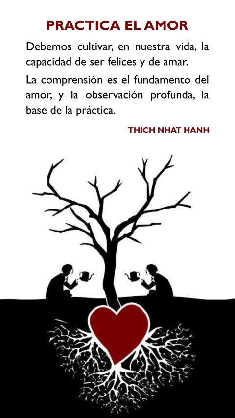 La Iluminacion Espiritual Frases Thich Nhat Hanh