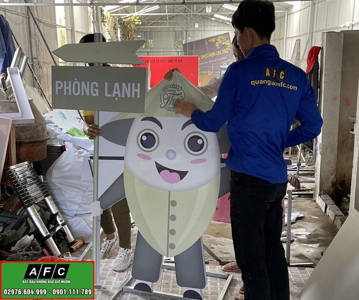 Thiết kế thi công hình Nộm quảng cáo tại Phú Quốc