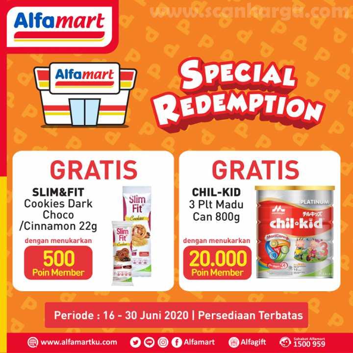 Alfamart Special Redemption Periode 16 - 30 Juni 2020