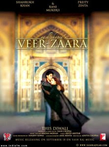 Veer-Zaara Shah Rukh Khan Movie Based on India-Pakistan Relation