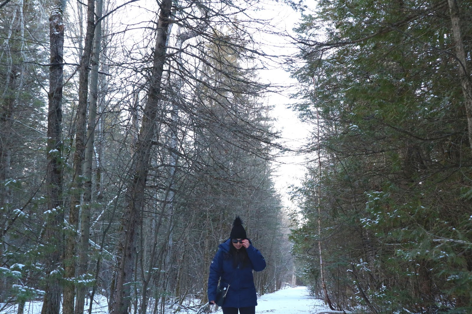 Cozy Winter Staycation in Kemptville Ontario