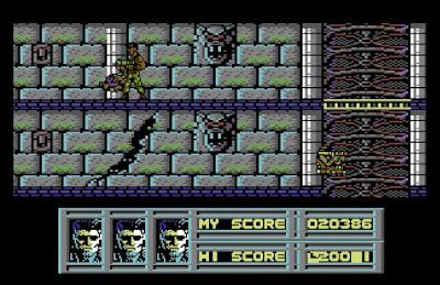 The Vindicator Commodore 64