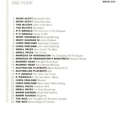 VA The Immediate Singles Collection (1966-69) (UK) 6 Disc Box Set (CD 4)