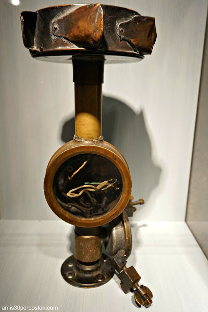 Anemómetro en el Museo Extreme Mount Washington
