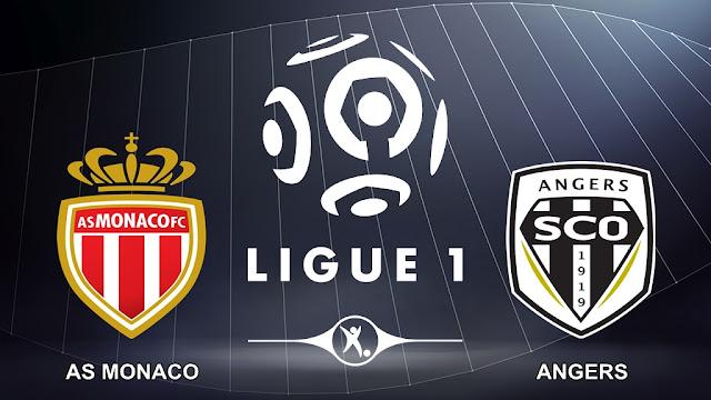 AS Monaco vs Angers 3 Desember 2017