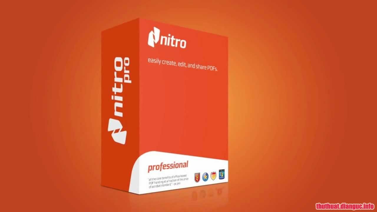 Download Nitro Pro Enterprise 12.0.0.112 Full Cr@ck – Phần mềm biên tập PDF