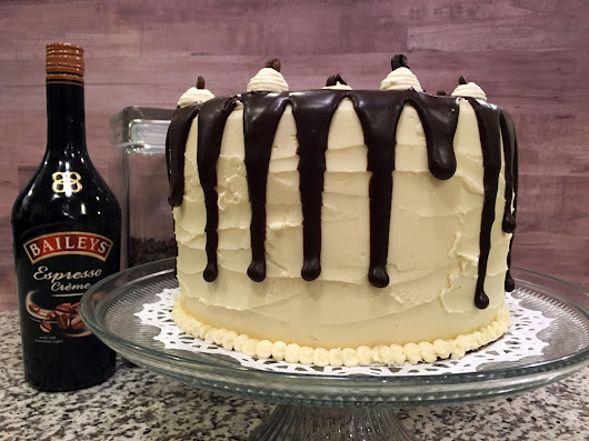 This Bittersweet Life: Chocolate Bailey's Irish Cream Cake
