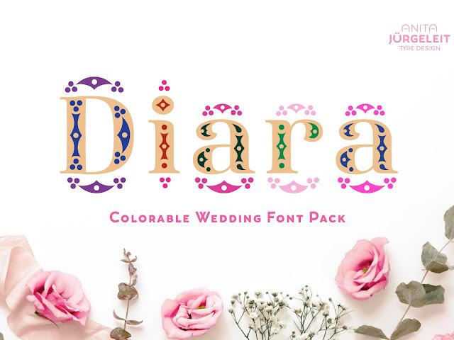 Diara - Wedding Download Font Free