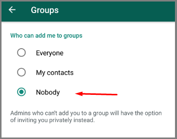 whatsapp group restrict