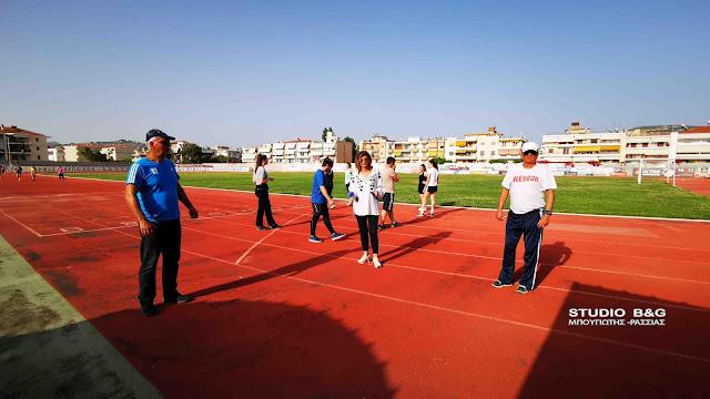 Μ. Ράλλη: Με αυστηρούς υγειονομικούς κανόνες η επαναλειτουργία των αθλητικών χώρων στο Ναύπλιο (βίντεο)
