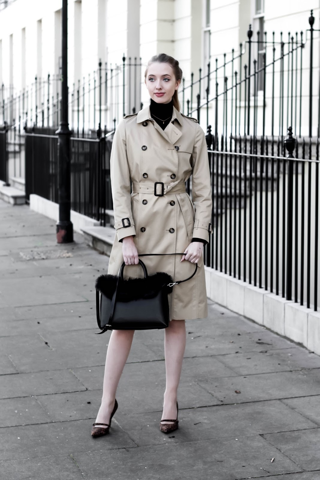 Classic Beige Trench Coat Spring 2018