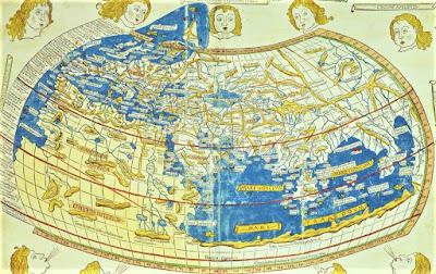 Gambar Peta Dunia Ptolemeus