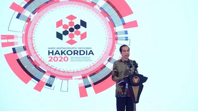 Jokowi: Menumbuhkan Rasa Malu Penting untuk Cegah Korupsi