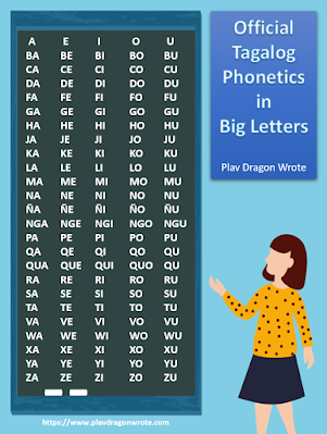 The Official Tagalog Phonetics in Big Letters - Effective Reading Guide for Kids