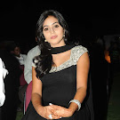 Poorna in Black ChuridarDress  Cute Photos