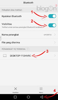 Kontrol Presentasi (Power Point) dari Smartphone Android dengan Office Remote
