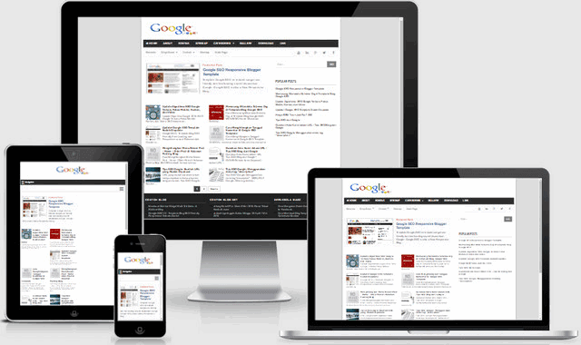 Google SEO v2 Responsive Blogger Templates