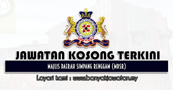 Jawatan Kosong 2021 di Majlis Daerah Simpang Renggam (MDSR)