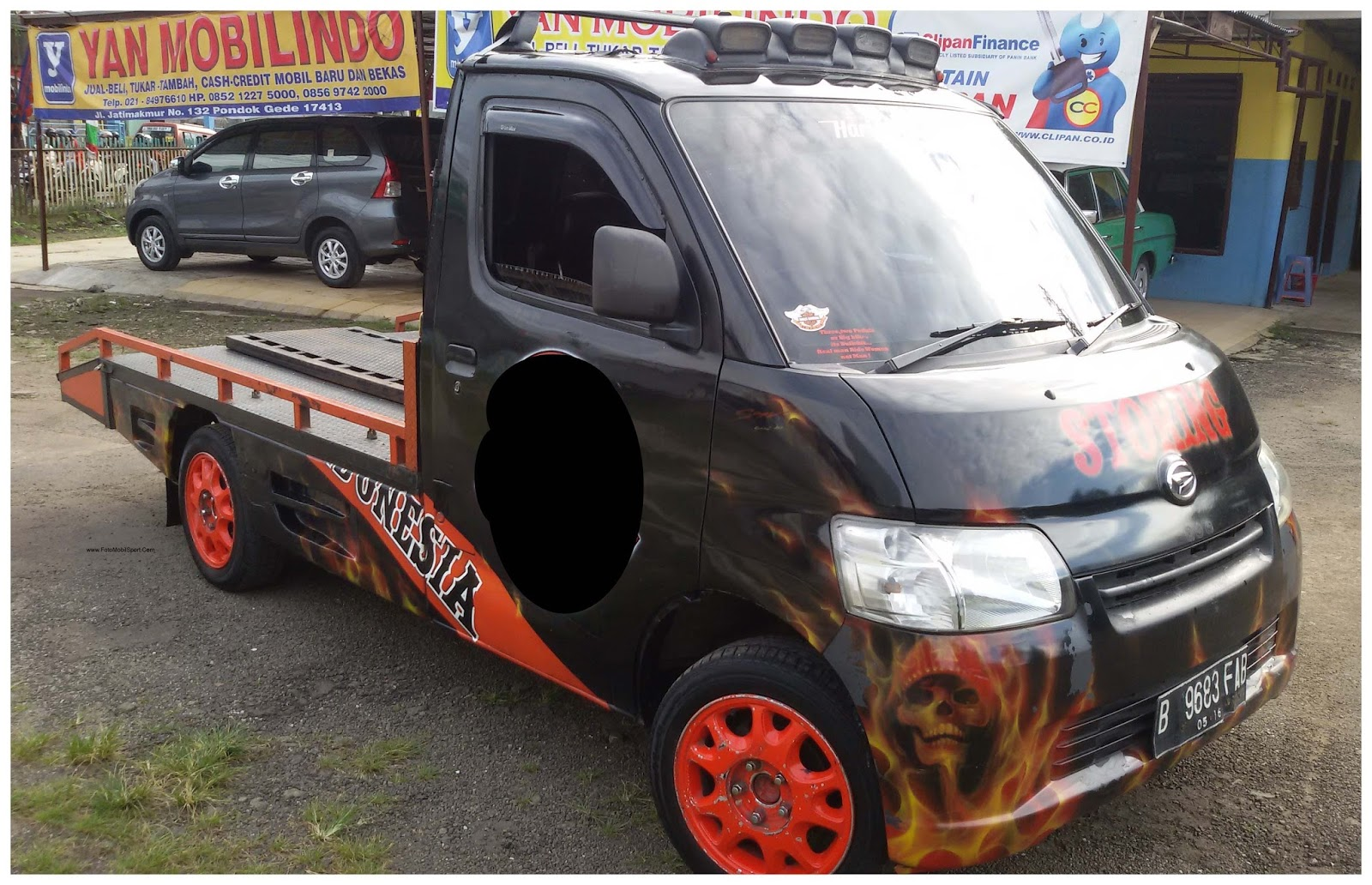 Modifikasi Pick Up: Mitsubishi Colt L300 Modifikasi