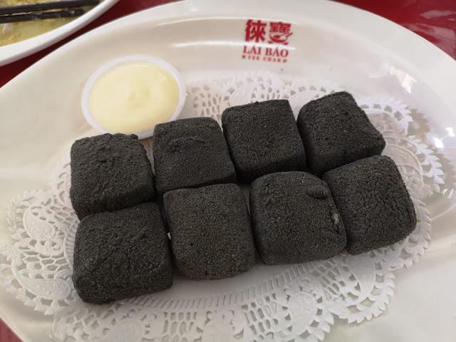 Charcoal Silken Tofu