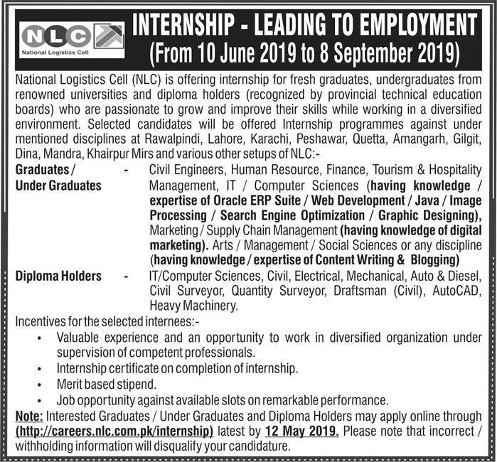 NLC Internship Program 2019 | Paid Internship