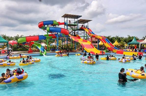 Singapore Land Waterpark, Objek Wisata Rekreasi Keluarga Terbaik Di Batubara Sumut