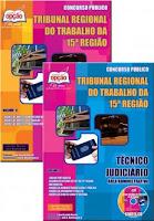 Apostila concurso TRT 15ª região SP 2017